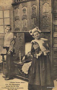 Couple du pays de l'Aven Années 1910