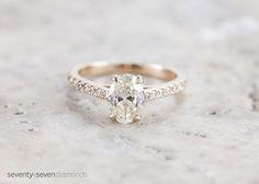 Engagement ring from 77 Diamonds #engagement #ring #diamond