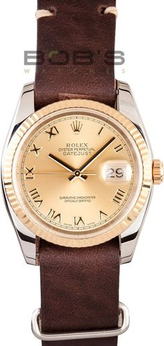Rolex DateJust Stainless and Gold 116233 Diamond Dial