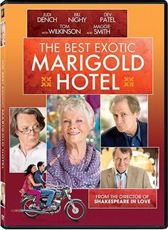 Maggie Smith & Bill Nighy & John Madden-The Best Exotic Marigold Hotel