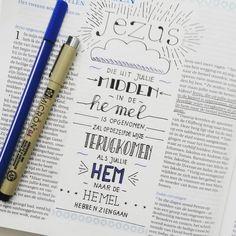 Hemelvaartsdag! #biblejournalingnederland #biblejournaling #micronpigma #bible #bijbel #tekst #handlettering by marjoleinscreations