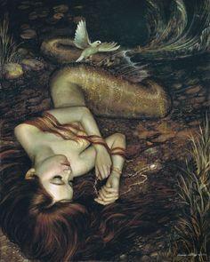 Annie Stegg- mermaid