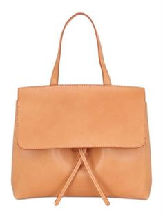 253dd2879005 mansur gavriel - women - top handles - mini lady vegetable tanned bag Tan  Bag