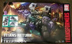 Titans Return Trypticon In Hand Photo Gallery