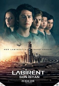 Get Maze Runner: The Death Cure DVD and Blu-ray release date, trailer, movie poster and movie stats. This sequel to Maze Runner: The Scorch Trials is the final film in the Maze Runner series, which can be described as part of the same dystopian YA. Maze Runner 3, Maze Runner Death Cure, Maze Runner Movie, Maze Runner Series, James Dashner, Dylan Thomas, Dylan O'brien, Thomas Brodie Sangster, Maze Runner Cura Mortal