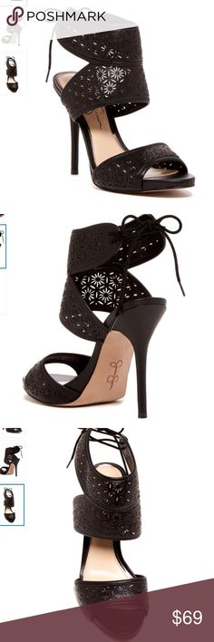 Nwt Jessica Simpson leather heels No trades please No flaws new 5 inch heel Jessica Simpson Shoes Heels
