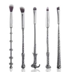 *** BACK IN STOCK *** ON Special SALE today 50% OFF + FREE SHIPPING! 100% brand new and high quality! Exquisitely crafted of metal alloy. The brushes are soft and silky to the touch. They apply makeup evenly and are easy to clean. Set includes 5brushes. HURRYlimited stock available! Please allow 15 business days for