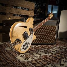 Rickenbacker Guitar, Types Of Guitar, Guitar Pins, Beautiful Guitars, Vintage Guitars, Cool Tones, Electric Guitars, Cool Guitar, Rock Stars