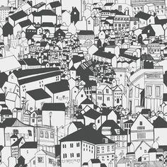 Lissabon wallpaper from Eco