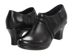 Dansko Banks Black Nappa - 6pm.com