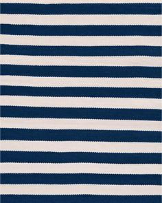 Trimaran Stripe Indoor-Outdoor Rug by Dash & Albert