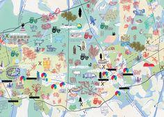 Carte de la Zone à défendre de Notre-Dame-des-Landes - Formes Vives, le blog