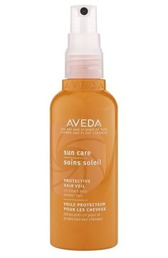 Your hair needs sunscreen too. Aveda's Sun Care provides a UV filter, protecting your hair from summer dryness and damage. | 16 Brilliant Summer Hair Hacks You Never Knew You Needed
