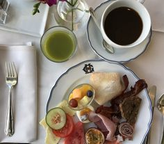 Breakfast at Grand Hotel Stockholm.