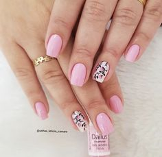Perfect Colorful Floral Nail Design – 32 It's your turn to have great nails! Check out this year's most … Pirate Nails, Flamingo Nails, Funky Fingers, Cute Nail Art Designs, Butterfly Nail, Feet Nails, Funky Nails, Flower Nails, Spring Nails