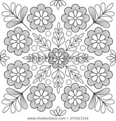 Find Beautiful Folk Art Motif stock images in HD and millions of other royalty-free stock photos, illustrations and vectors in the Shutterstock collection. Thousands of new, high-quality pictures added every day. Chain Stitch Embroidery, Crewel Embroidery Kits, Embroidery Flowers Pattern, Learn Embroidery, Embroidery Designs, Mexican Embroidery, Hungarian Embroidery, Embroidery Techniques, Fabric Painting