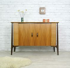 retro vintage teak mid century dansih style sideboard eames era 1950's, 60's...ebay
