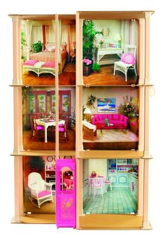 A Look Back at Barbie's Dreamhouse - Barbie's Dreamhouse Through the Years - The 1983 Townhouse.