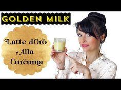 Gli straordinari benefici della curcuma - YouTube Golden Milk Latte, Youtube, Health, Gold, Health Care, Youtubers, Youtube Movies, Salud