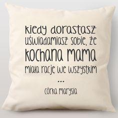 Poduszka personalizowana KOCHANA MAMA