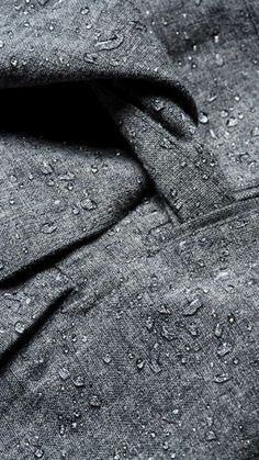 BRGN by Lunde & Gaundal waterproof coat. Pumice Stone, Waterproof Coat, Detail, Collection