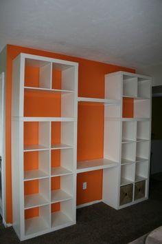 Toy shelf and desk