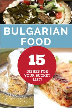 Bulgarian Food is some of the tastiest in Eastern Europe. From Tarator to Meshana Skara, here are the dishes you need to experience.