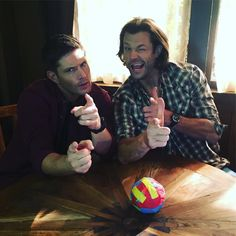 "15.8k Likes, 156 Comments - SPN Tape Ball (@spntapeball) on Instagram: ""Happy Supernatural Day Y'all #spntapeball13 @jensenackles @jaredpadalecki #spnfamily #09132005…"""