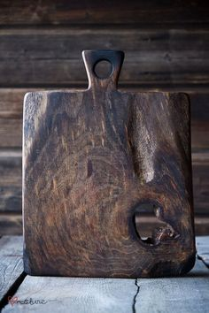 Old wood cutting board