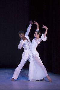 'Latin Heat' at The Washington Ballet 'La Ofrenda] with Brooklyn Mack and-Sona Kharatian. Photo by media4artist Theo-Kossenas.