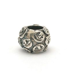 Trollbeads Retired Silver Smiley