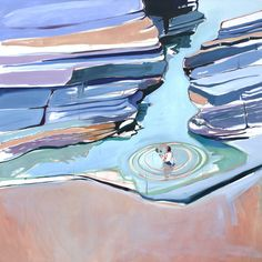 Charlotte Evans | Rock Pool (2013) | Available for Sale | Artsy