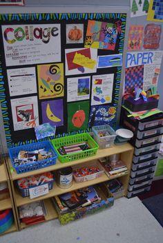 The smartteacher resource: primary school collage and weaving Primary School Art, Middle School Art, Art School, Art Classroom Decor, Classroom Ideas, Montessori, Art Room Doors, Art Bulletin Boards, Art Room Posters