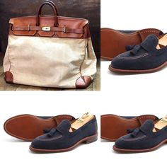 Alden Shoes and Hermes bag