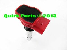 2006-2013 VW Volkswagen Touareg RED Ignition Coil Replacement GENUINE OEM NEW - Volkswagen (06E-905-115-E)