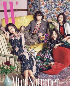 Snsd magazine cover
