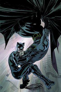 """artverso: """"Guillem March - Catwoman and Batman """" Batgirl, Catwoman Y Batman, Catwoman Cosplay, Batman Comic Art, Nightwing, Batman Artwork, Batman Love, Im Batman, Batman Beyond"""