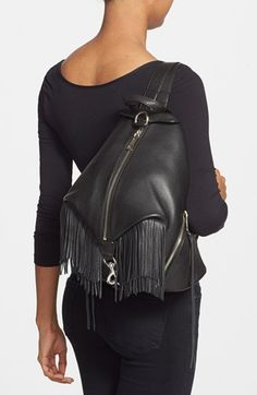 Rebecca Minkoff 'Julian' Backpack with Fringe | Nordstrom
