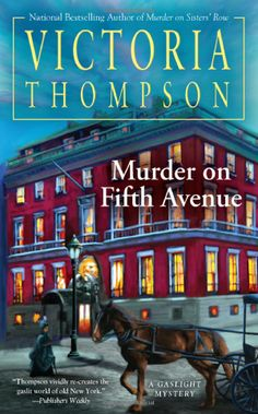 Murder on Fifth Avenue (Gaslight Mystery): Victoria Thompson: Amazon.com: Books
