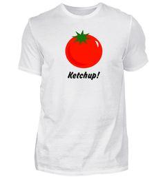 Tomaten , Ketchup! T-Shirt Mens Tops, Women, Fashion, Moda, Women's, Fashion Styles, Woman, Fasion