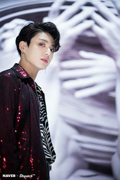 Jungkook   | BTS NAVER x DISPATCH HD 'FAKE LOVE' MV Behind The Scene Taehyung, Namjoon, Seokjin, Hoseok, Jimin, Jungkook 2018, Bts Bangtan Boy, Peter Pan, Jin Gif