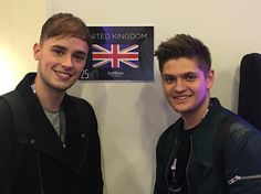 The dressing room!!!!  by joeandjakemusic #Eurovision #Eurovision2016