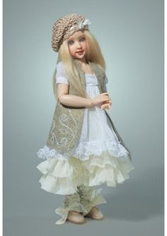 Zoe City Chic ~ Gorgeous Resin BJD by Helen Kish ~ Limited Edition 75!!!