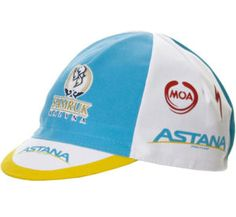 MOA Astana Team Cycling Cap | eBay