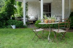 Outdoor Seating Area  #country #cottage  #stamford #connecticut #garden Stamford Connecticut, Outdoor Seating Areas, Outdoor Furniture Sets, Outdoor Decor, Cottage, Patio, Studio, Country, Garden
