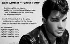 ghost town evolution lyrics