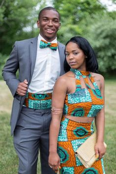 Ankara Xclusive: 2018 Beautiful Ankara Styles For Young Couples Couples African Outfits, Couple Outfits, African Attire, African Wear, African Women, African Dress, African Style, African Inspired Fashion, African Print Fashion