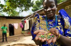 Great fair trade story about Teddy Namuyiga, a beader at BeadforLife