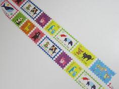 紙膠帶分裝(100cm)~日本 TSUTSUMU 動物們的切手