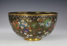 Incredible Antique Japanese Cloisonne Bowl with Intricate Design | eBay $1625 09/15/14